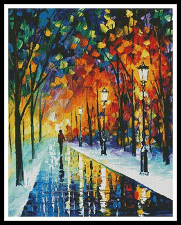 click here to view larger image of Frozen Path (Regular)  (Leonid Afremov) (chart)