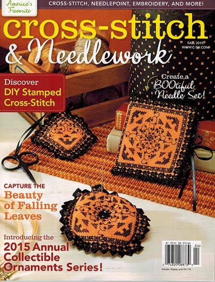 click here to view larger image of Cross Stitch & Needlework Magazine - Fall 2015 (magazines)