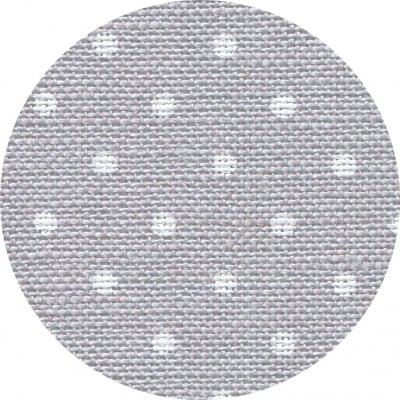 click here to view larger image of Belfast 32ct Petit Point Grey with White Points (Zweigart Belfast Linen)