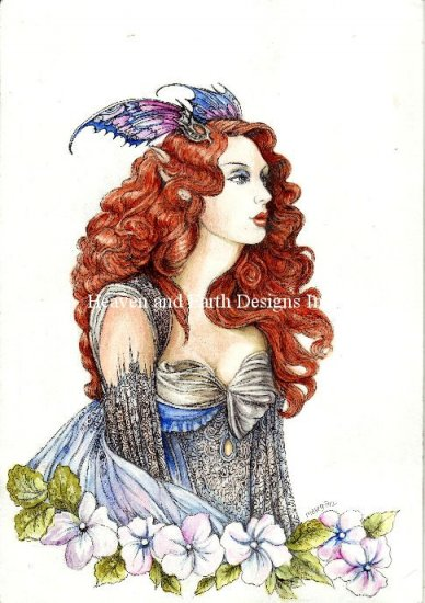 click here to view larger image of Butterfly Elf (chart)