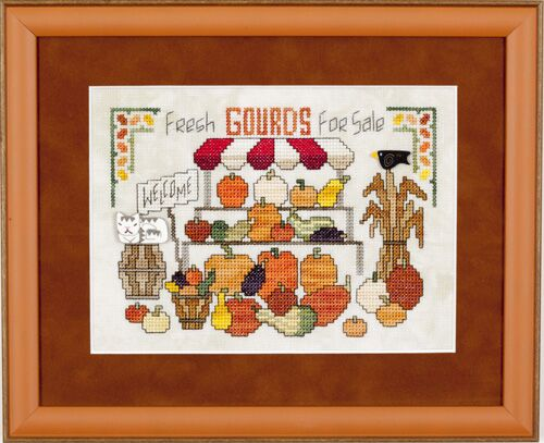 click here to view larger image of Gourds and More Gourds (chart)