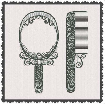 click here to view larger image of Comb and Mirror (chart)