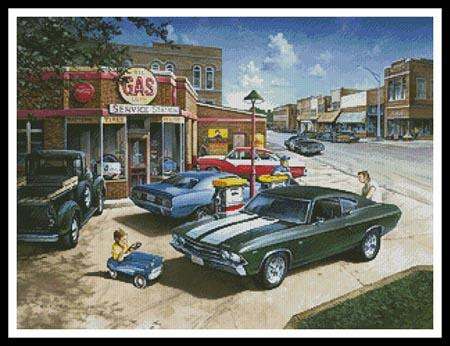 click here to view larger image of Muscle Car Dreams (chart)