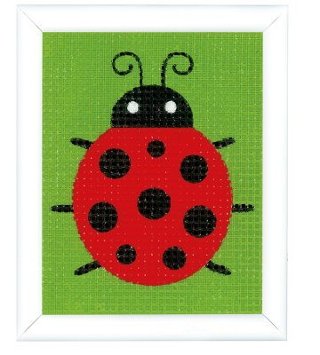 click here to view larger image of Ladybug - Canvas Kit (needlepoint)