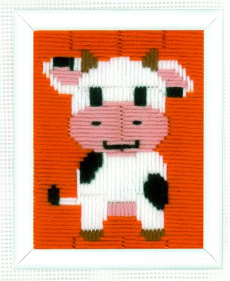 click here to view larger image of Cow - Long Stitch (needlepoint)