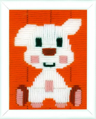 click here to view larger image of Doggy - Long Stitch (needlepoint)