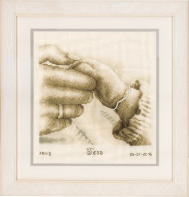 click here to view larger image of First Tenderness (counted cross stitch kit)