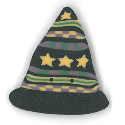 click here to view larger image of Witch Hat (buttons)