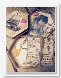 click here to view larger image of Memories Forgotten Case (counted cross stitch kit)