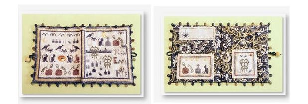 click here to view larger image of October Needlebook (counted cross stitch kit)