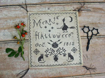 click here to view larger image of Merrie Halloween (chart)
