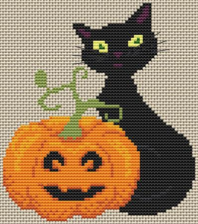 click here to view larger image of Pumpkin Sitter, The (chart)