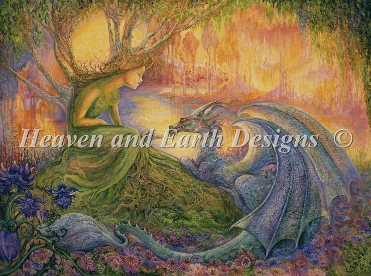 click here to view larger image of Dryad and the Dragon, The (chart)
