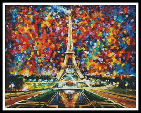 click here to view larger image of Paris of My Dreams - Regular  (Leonid Afremov) (chart)