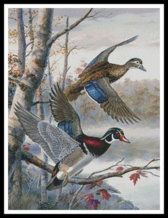 click here to view larger image of Lakeside Wood Ducks (chart)