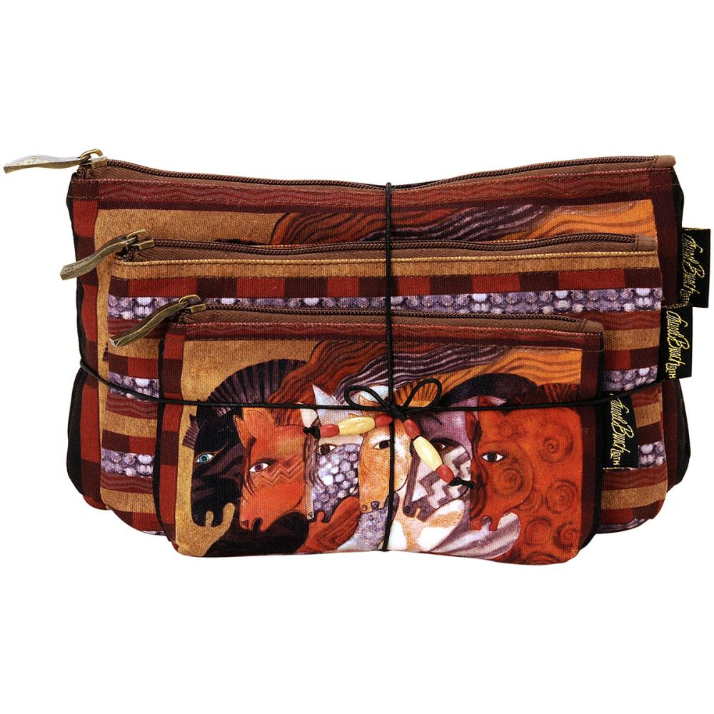 click here to view larger image of Moroccan Mares - Cosmetic Bag Set of Three (accessory)