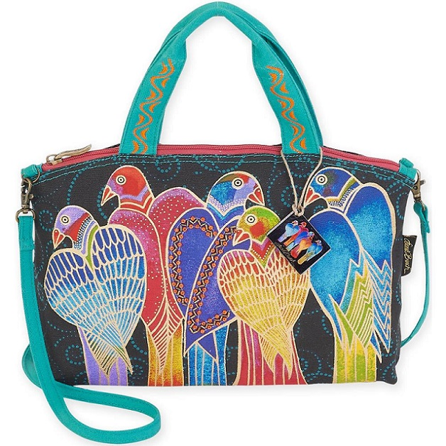 click here to view larger image of Brazillian Birds - Small Tote (accessory)