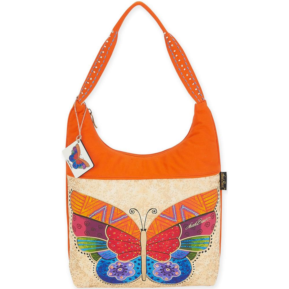 click here to view larger image of Flutterbye - Medium Scoop Tote (accessory)