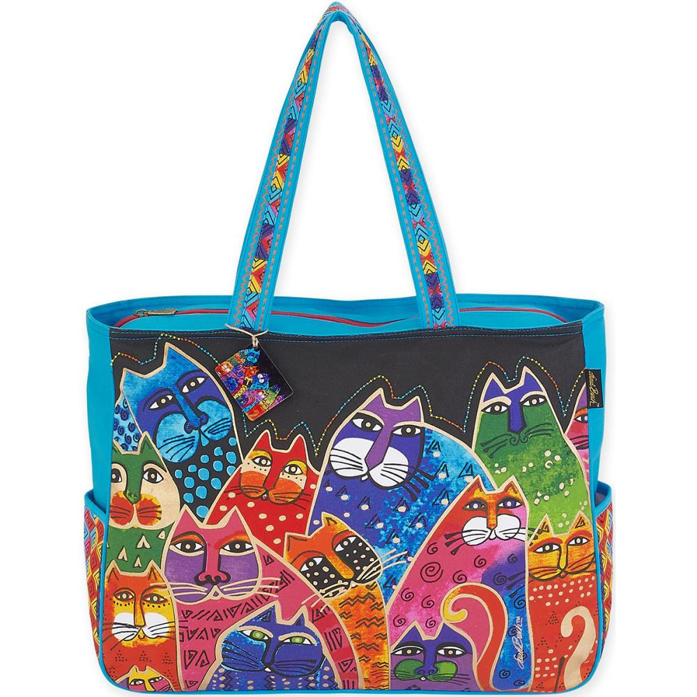 click here to view larger image of Whiskered Family - Oversized Tote (accessory)