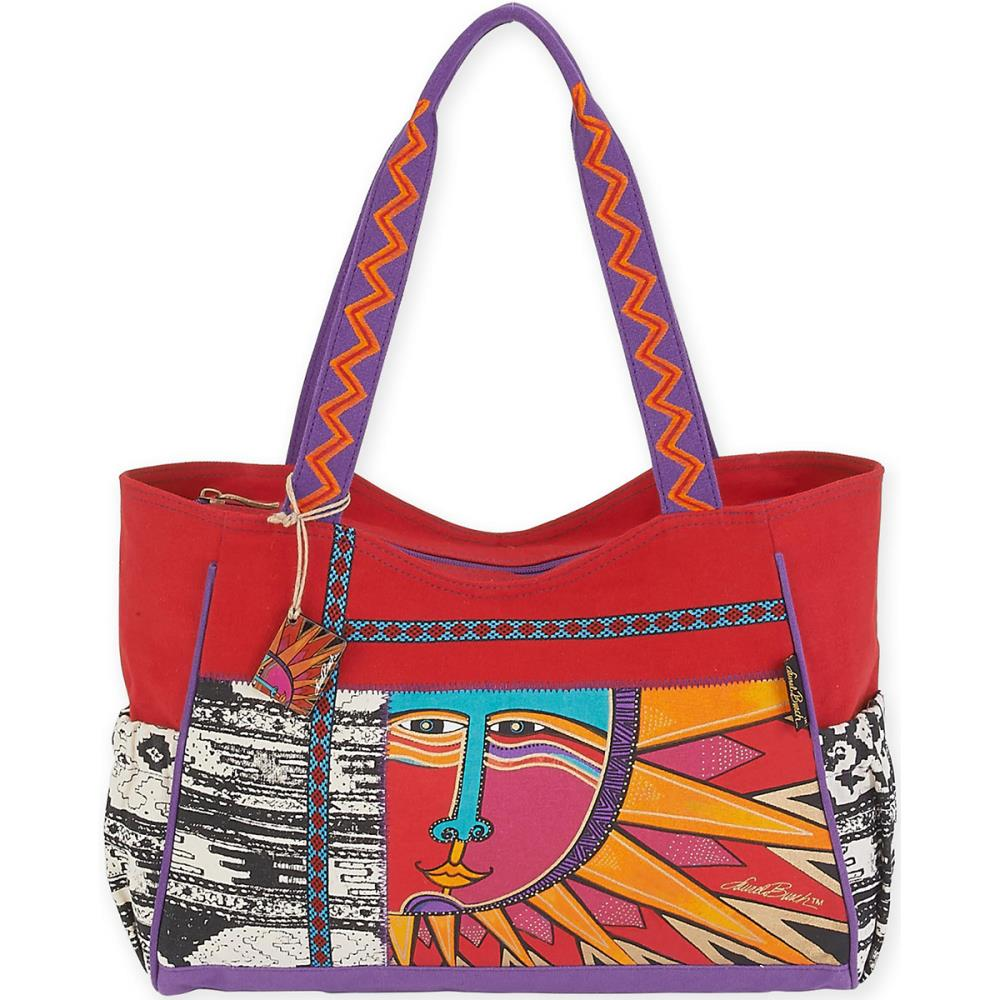 click here to view larger image of Celestial Rays - Medium Scoop Tote (accessory)