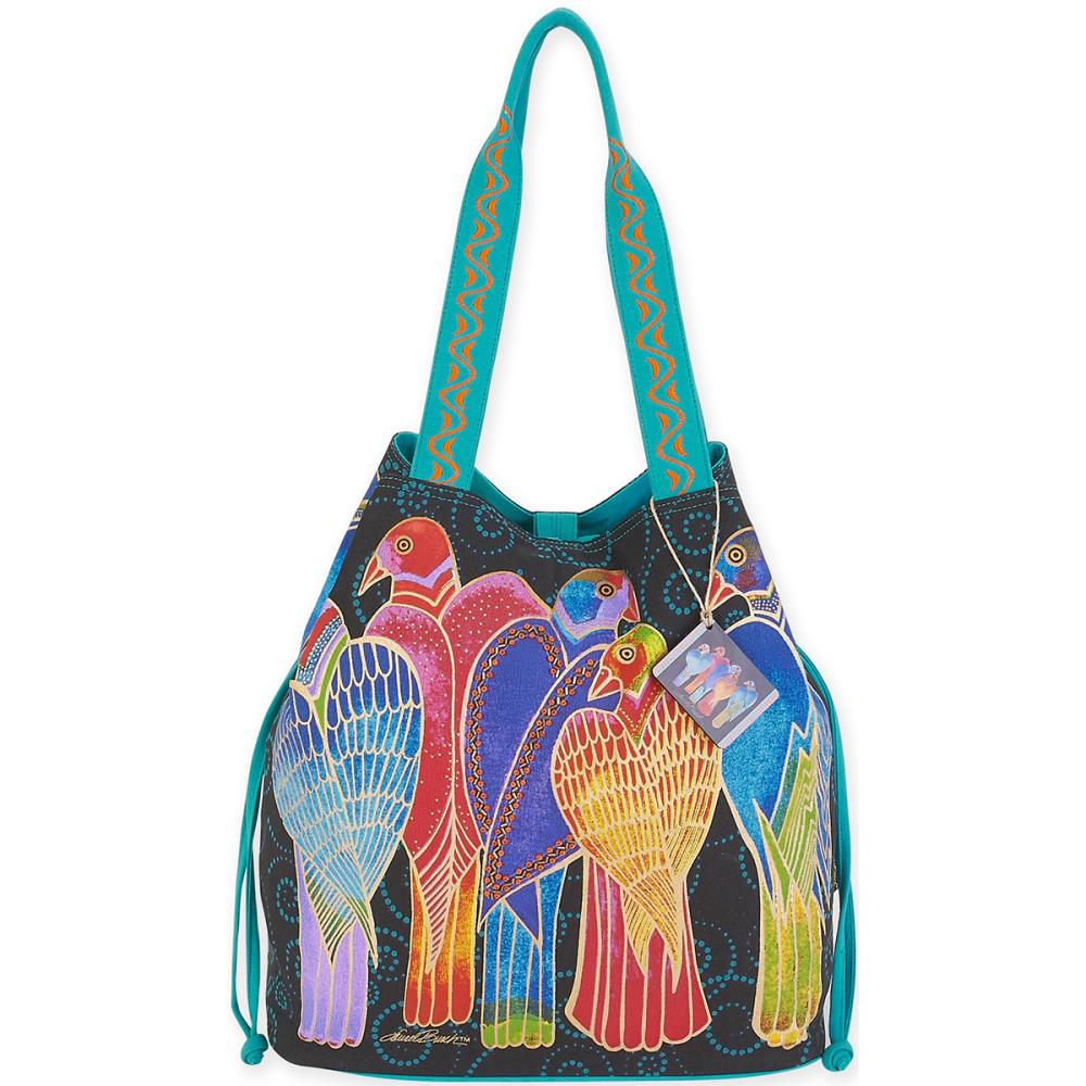 click here to view larger image of Brazillian Birds - Drawstring Bag (accessory)