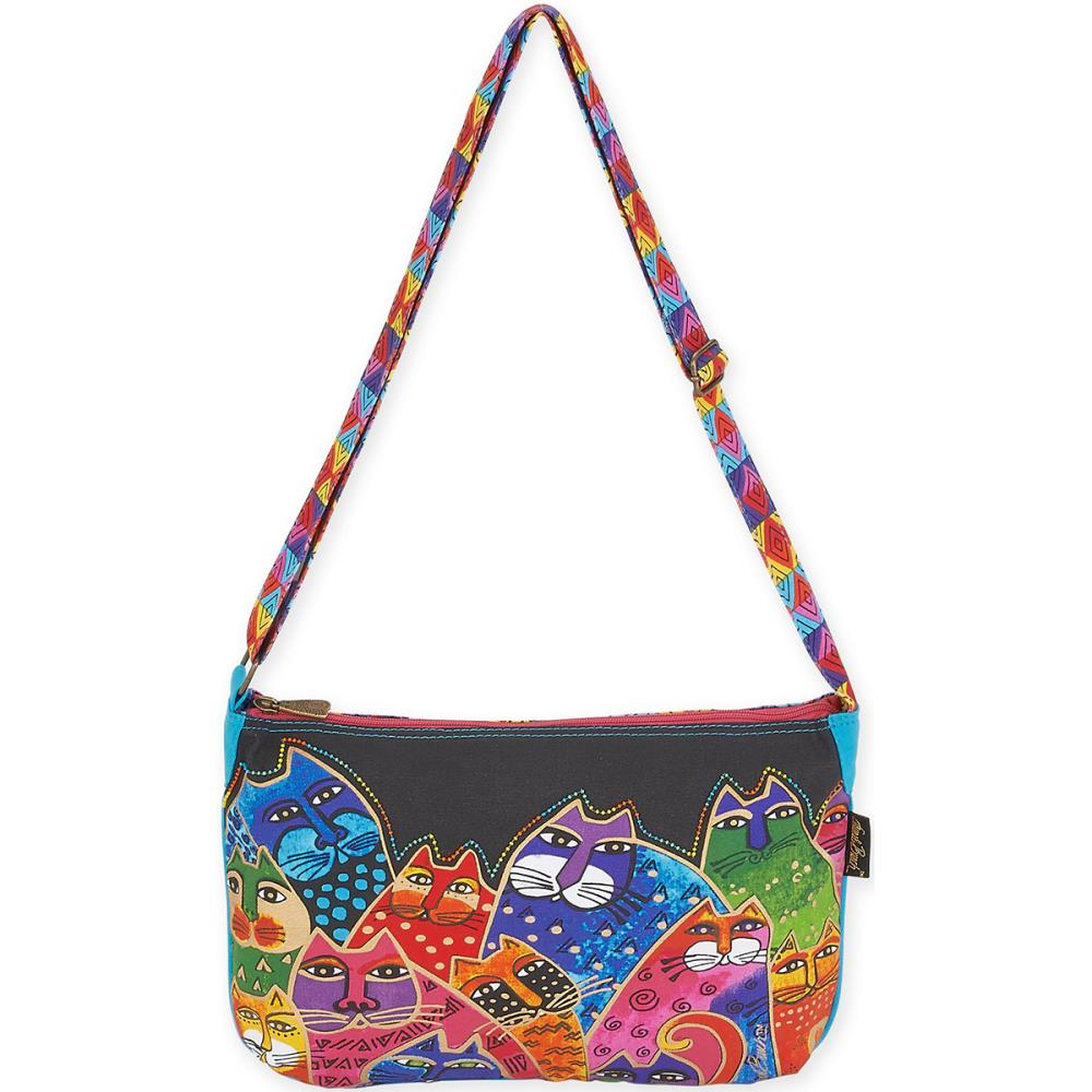 click here to view larger image of Whiskered Family - Medium Crossbody Bag (accessory)