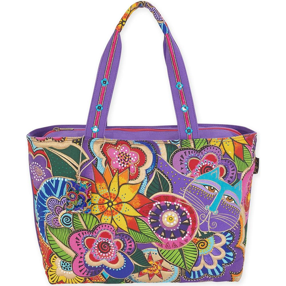 click here to view larger image of Carlottas Garden - Shoulder Tote (accessory)