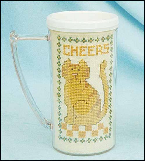 click here to view larger image of White Stein Mug - No Vinyl (stitchable)