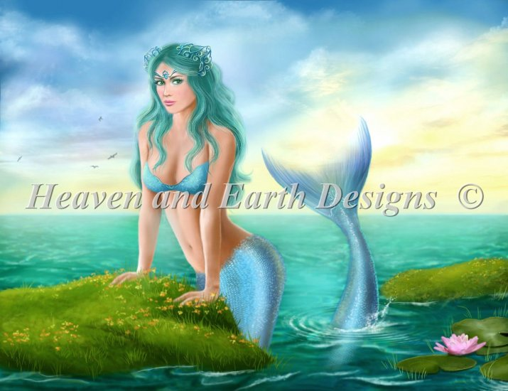 click here to view larger image of Mermaid On Shore (chart)