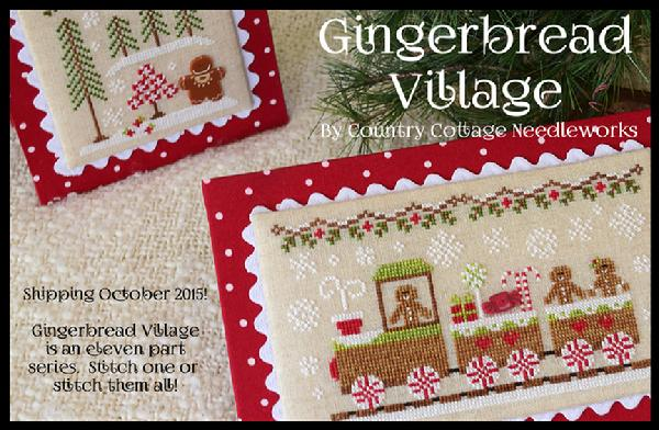 Gingerbread Village - Auto Signup - click here for more details about chart