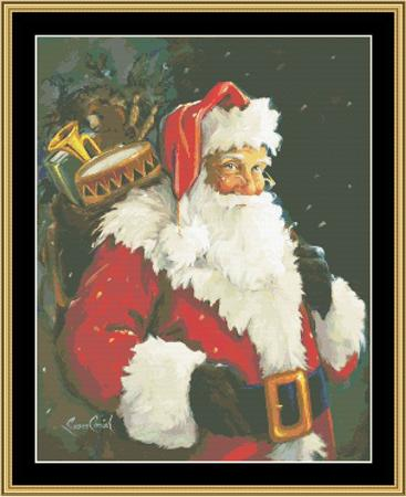 click here to view larger image of Kris Kringle (chart)