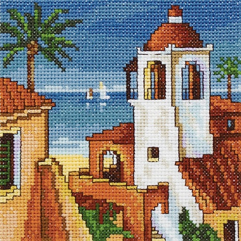 click here to view larger image of Siesta 2 (counted cross stitch kit)