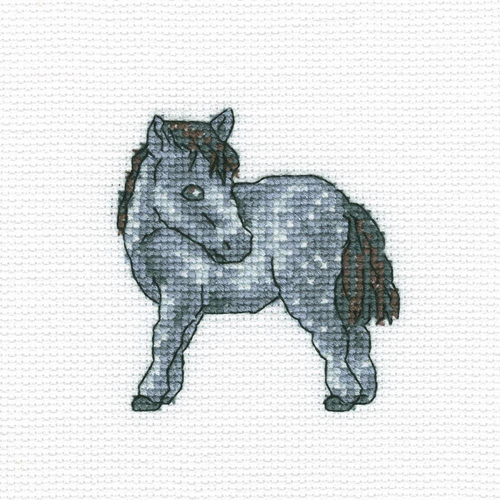 click here to view larger image of Dappled Horse (counted cross stitch kit)