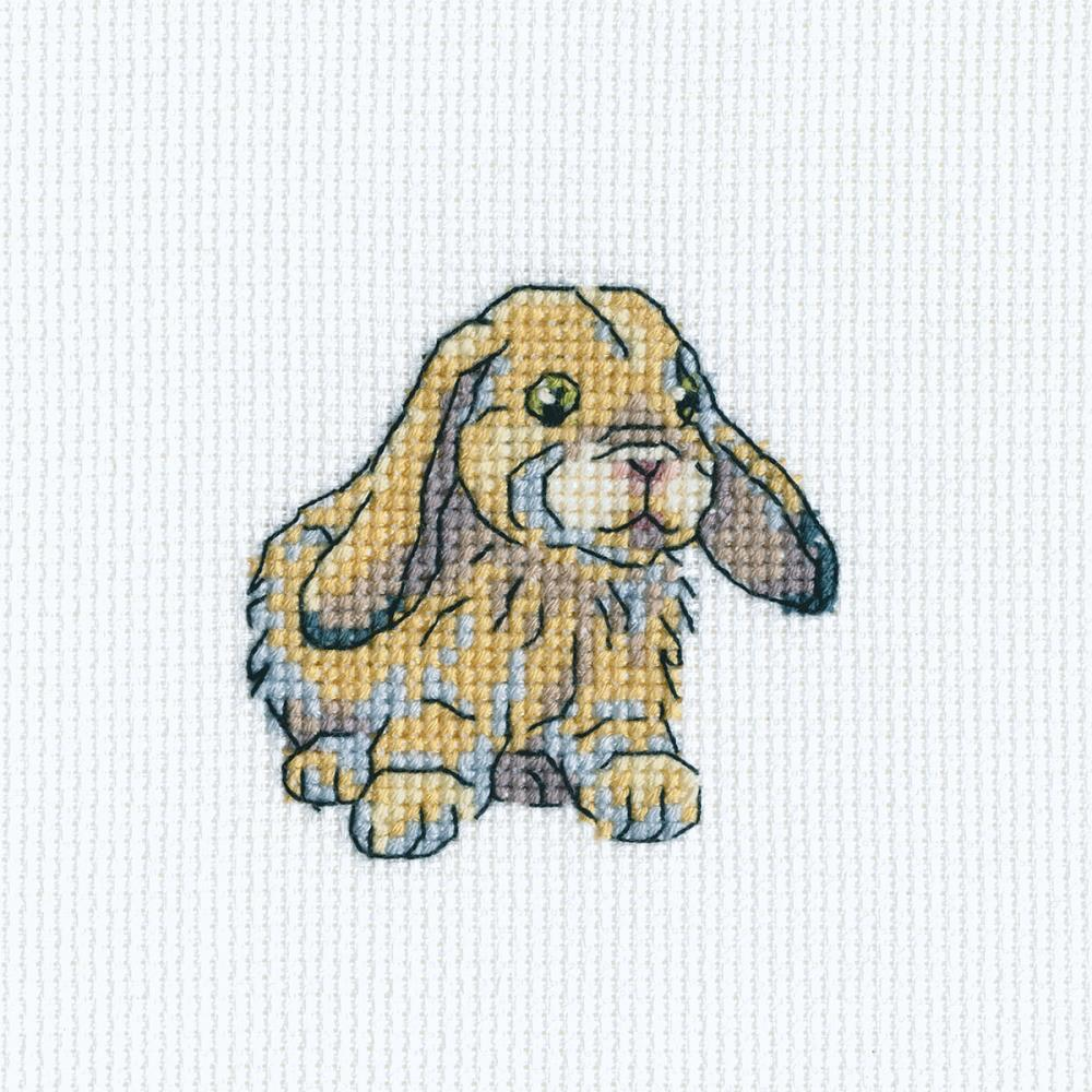 click here to view larger image of Rabbit Fanny (counted cross stitch kit)