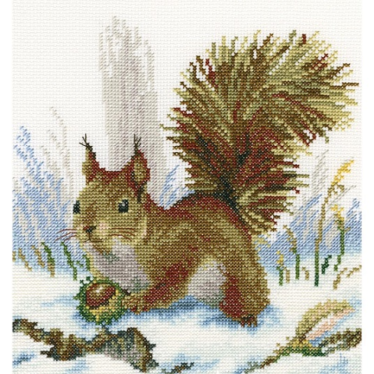click here to view larger image of Winter Morning (counted cross stitch kit)