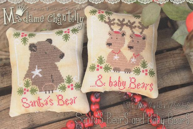 click here to view larger image of Santas Bear and Baby Bears - 2015 (chart)
