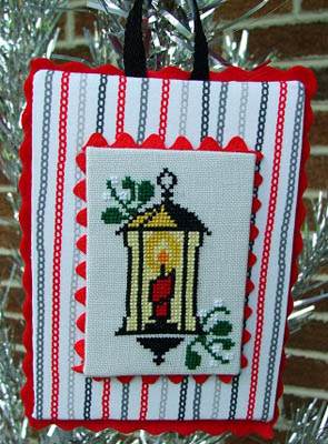 click here to view larger image of Mid-Century Modern Christmas - Lantern (chart)