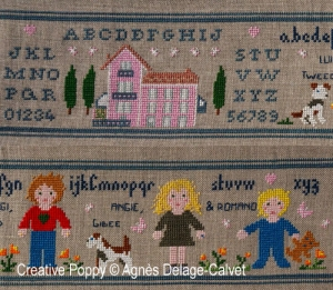 click here to view larger image of A Story Told In Stitches - My Family Portrait (chart)