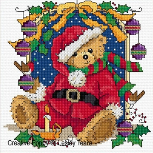 click here to view larger image of Christmas Teddy (chart)
