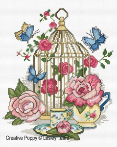 click here to view larger image of Beautiful Bird Cage (chart)