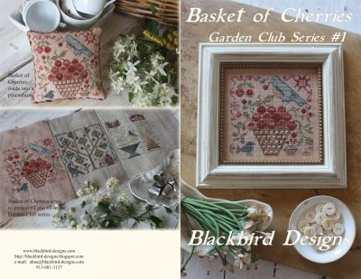 click here to view larger image of Basket of Cherries - Garden Club 1 (chart)
