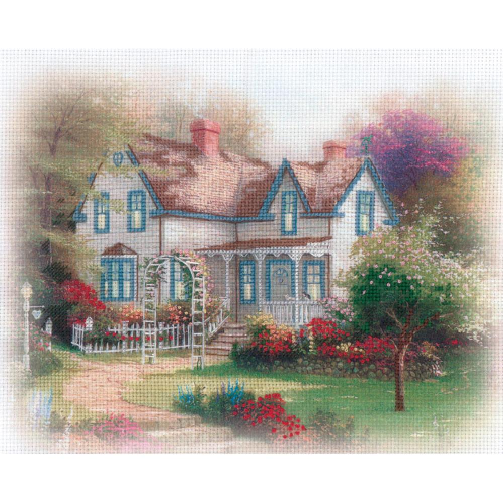 click here to view larger image of Home Is Where - Embellished Cross Stitch Kit (embellished cross stitch kit)