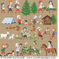 click here to view larger image of Happy Childhood - Mountain (chart)