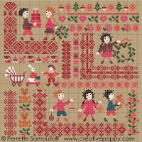 click here to view larger image of Christmas Mini Motif Sampler (chart)