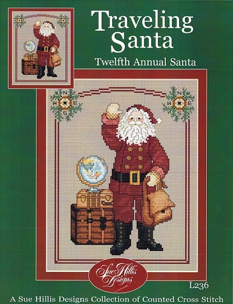 Traveling Santa - click here for more details about chart