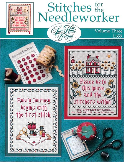 Stitches For The Needleworkers Vol 3 - click here for more details about chart
