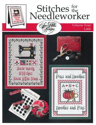 click here to view larger image of Stitches For The Needleworkers Vol 4 (chart)