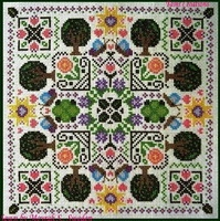 click here to view larger image of Floral Mandala (chart)