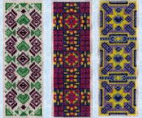 click here to view larger image of Six Bookmark Patterns (chart)
