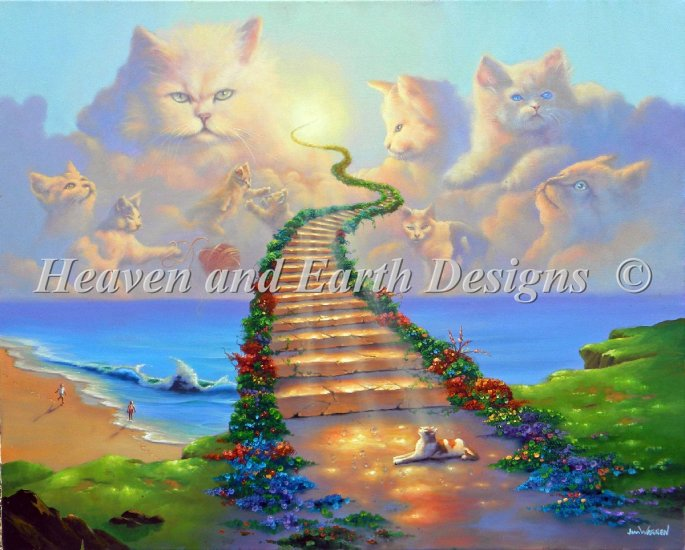 click here to view larger image of All Cats Go To Heaven (chart)